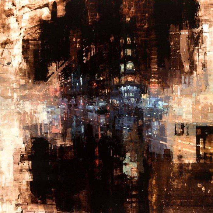 Дыхание мегаполиса. Автор: Jeremy Mann.