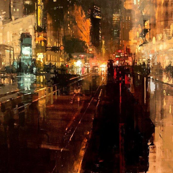 Другая ночь. Автор: Jeremy Mann.
