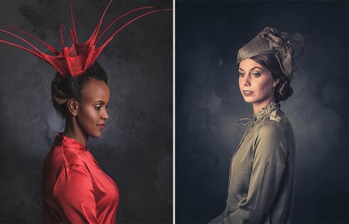 Элегантные шляпки. Автор: Jeroen Adema.