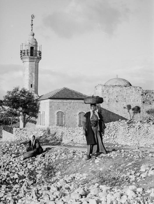 Священная обитель, древний город Иерусалим, 1900 год.