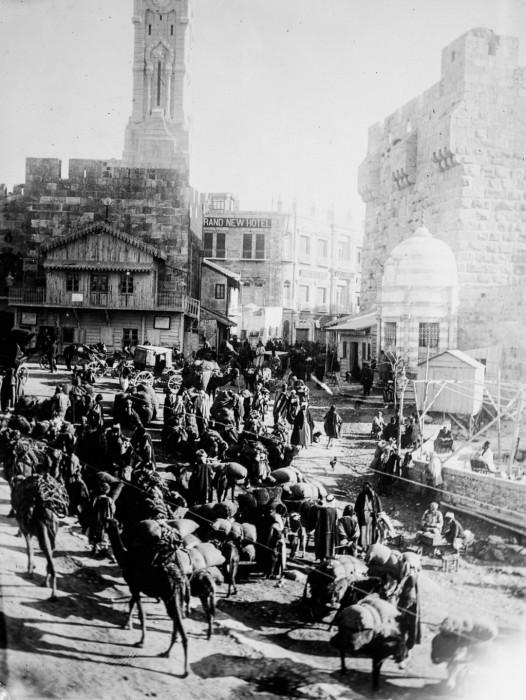 Иерусалим - один из самых древних городов, 1910 год.