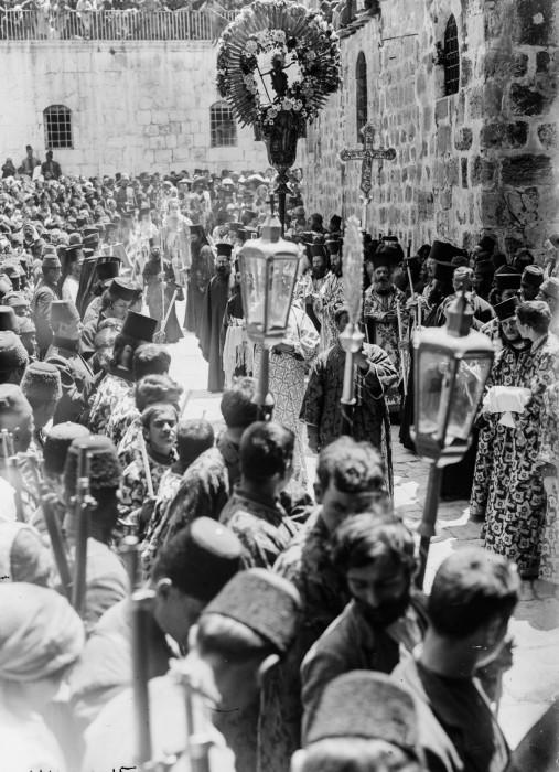 Греческий православный крестный ход, 1915 год.