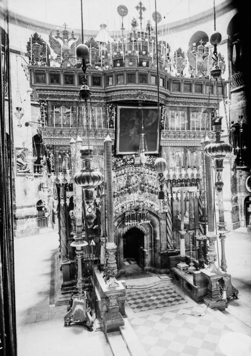 Храм Гроба Господня, 1915 год.