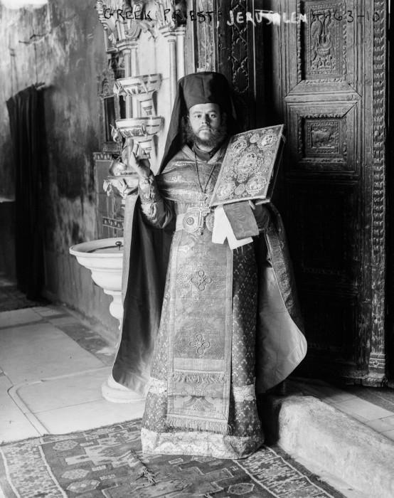 Греческий православный священник, 1915 год.