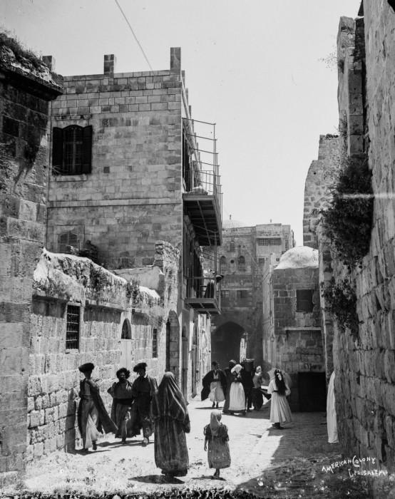 Древнейший город Иерусалим, 1900 год.
