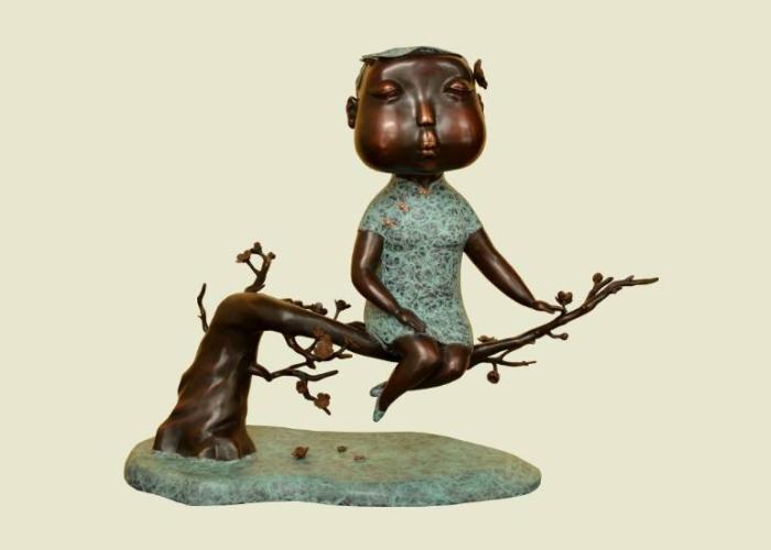 Необычные скульптуры Автор: Jiahui Wu.