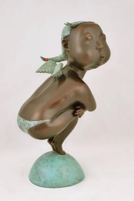 Убежище ангела. Скульптуры Автор: Jiahui Wu.