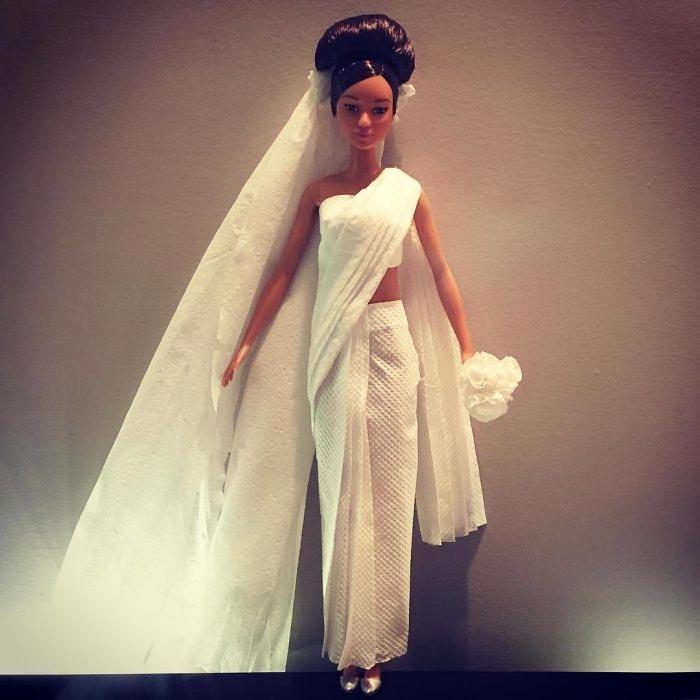 Свадебное платье в греческом стиле. Автор: Jian Yang.