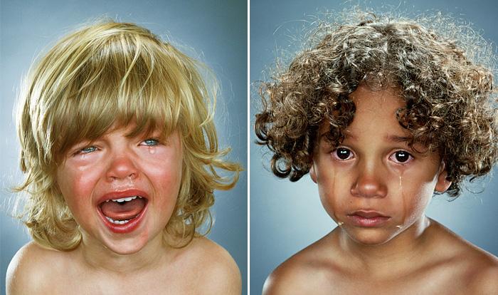 Эмоциональные дети. Автор фото: Jill Greenberg.
