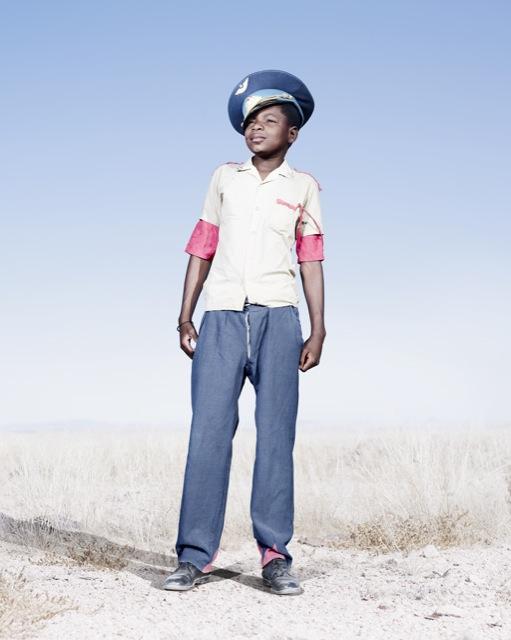 Мальчик-гереро,  фото 2012 год. Автор фото: Джим Наугтен (Jim Naughten).