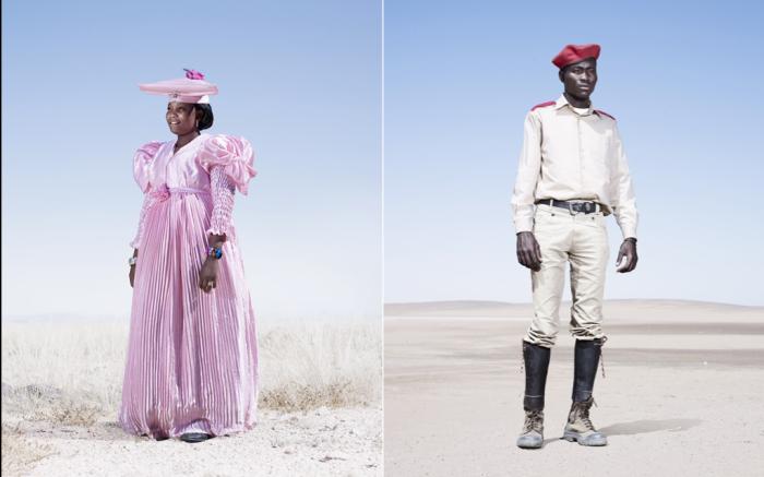 Жители племени Гереро. Автор фото: Джим Наугтен (Jim Naughten).