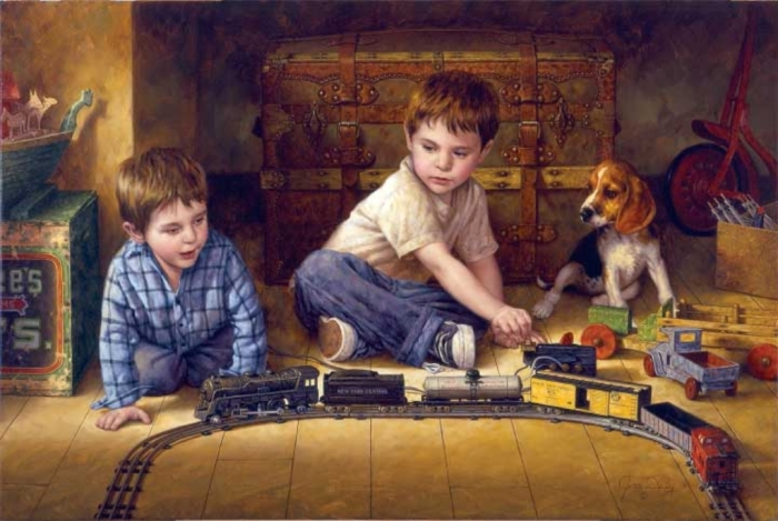 Железная дорога. Автор: Jim Daly.