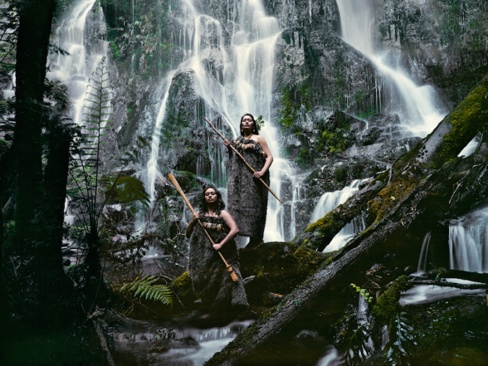 Женщины Маори. Автор фото Джимми Нельсон (Jimmy Nelson).
