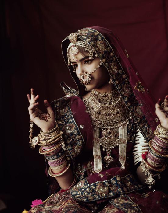 Экзотические рабари Гуджерата, Индия. Автор фото: Джимми Нельсон (Jimmy Nelson).