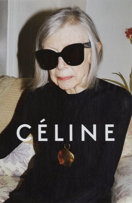Джоан Дидион (Joan Didion). Возраст: 80 лет. Кампания: Celine.