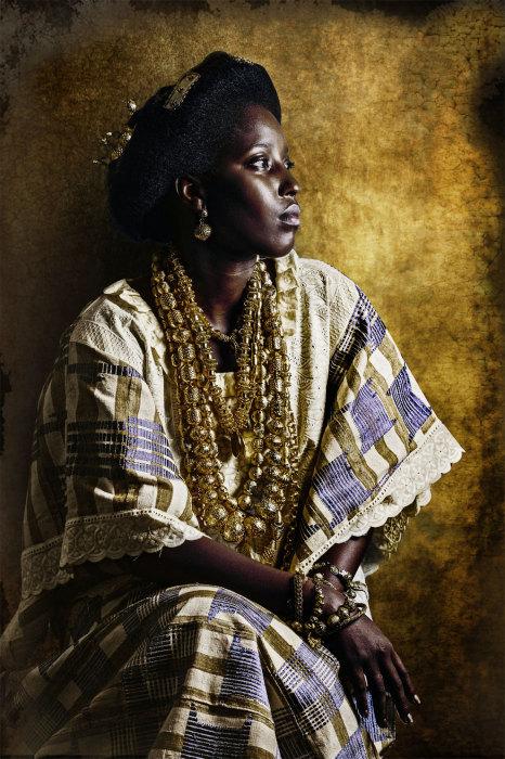 Роскошные наряды Apollo Akan. Автор: Joana Choumali.
