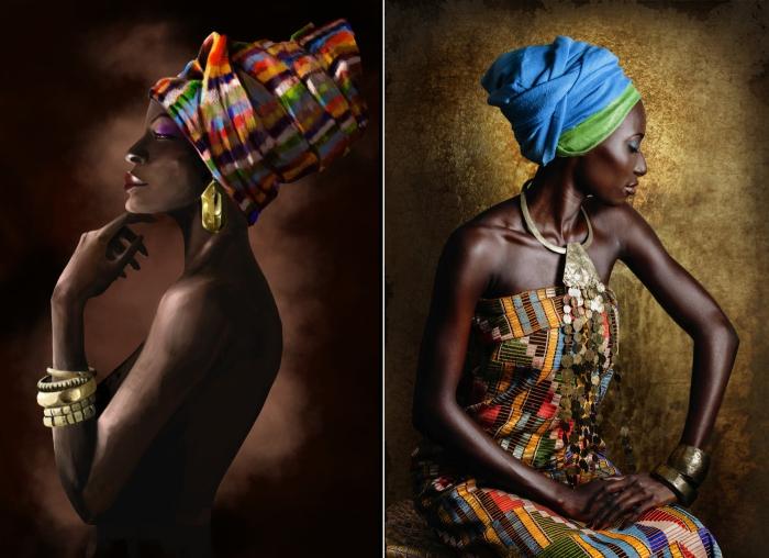 Африканские женщины. Автор: Joana Choumali.