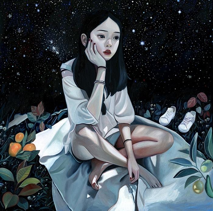 Космос. Автор: Joanne Nam.