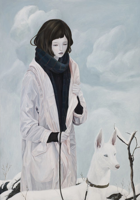 Корейская художница пишет эмоциональные картины по мотивам юношеских переживаний
