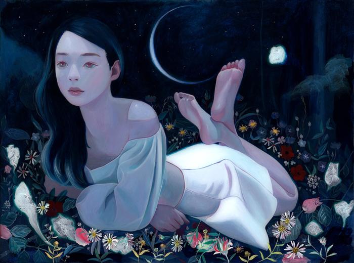 Тайное озеро. Автор: Joanne Nam.