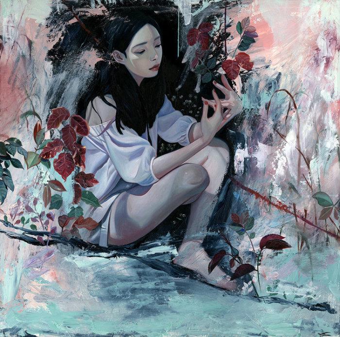 Северное сияние. Автор: Joanne Nam.