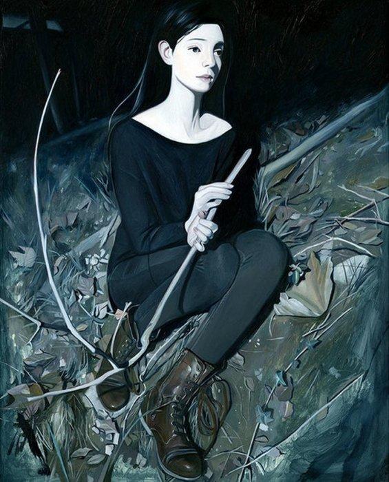 Затмение. Автор: Joanne Nam.