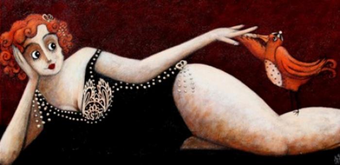 Шуточные работы современного французского художника Джоанны Перду.