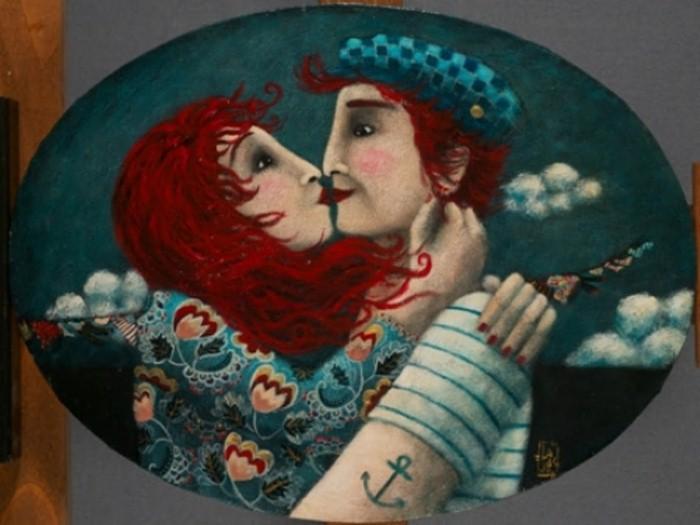 Влюблённые. Автор: Johanna Perdu.