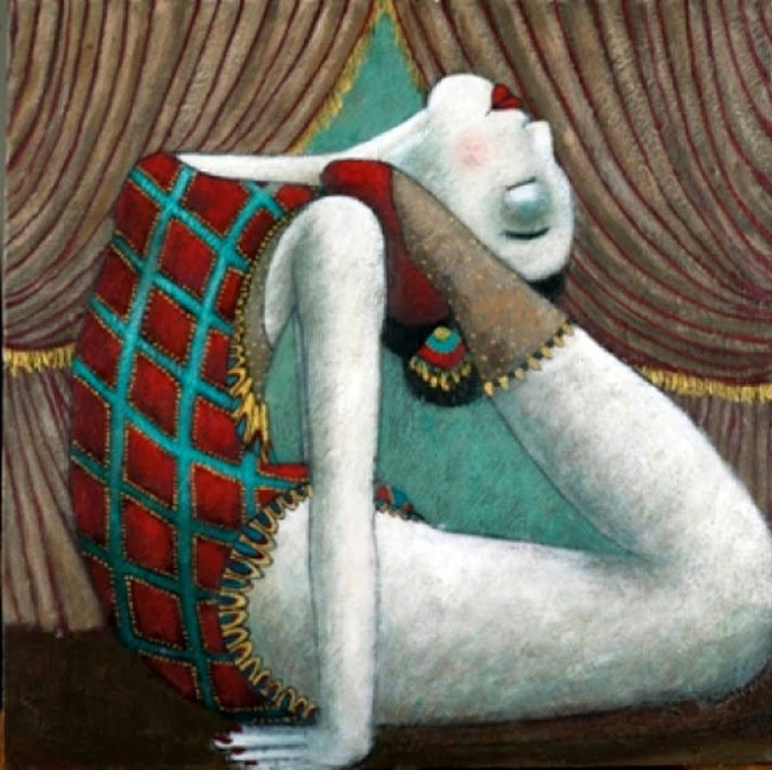 Художественная гимнастика. Автор: Johanna Perdu.