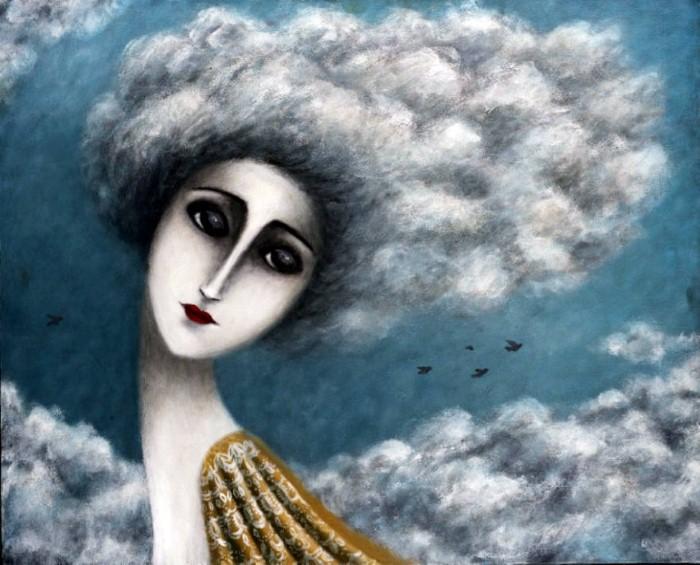 Облака... Автор: Johanna Perdu.