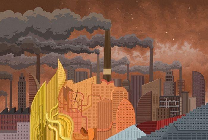Экология. Автор: John Holcroft.