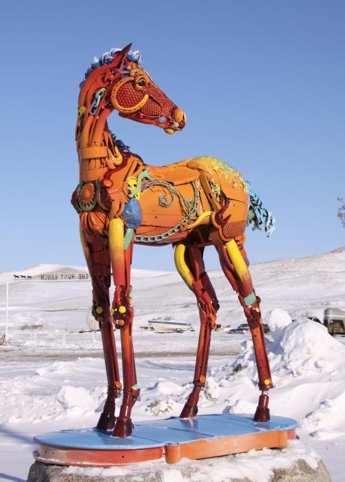 Лошадь. Автор: John Lopez.