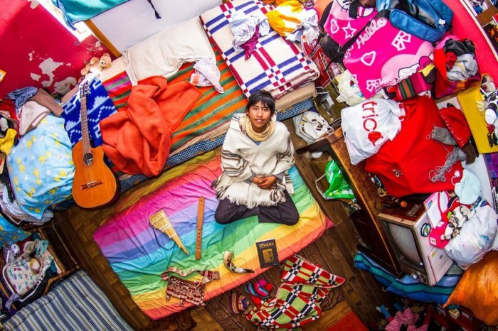Лас-Пас, Боливия: Марселло — 18-летний школьник. Автор: John Thackwray.