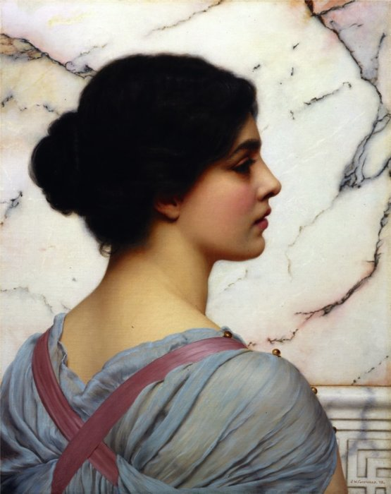 Помпеянская красавица. Автор: John William Godward.