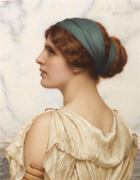 Аталанта, 1908 год. Автор: John William Godward.