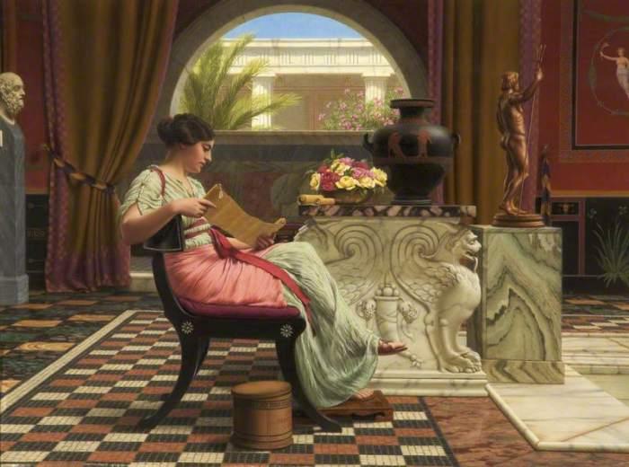 Избранное, 1901 год. Автор: John William Godward.