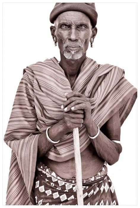 Портрет мужчины, Кения. Автор: John Kenny.