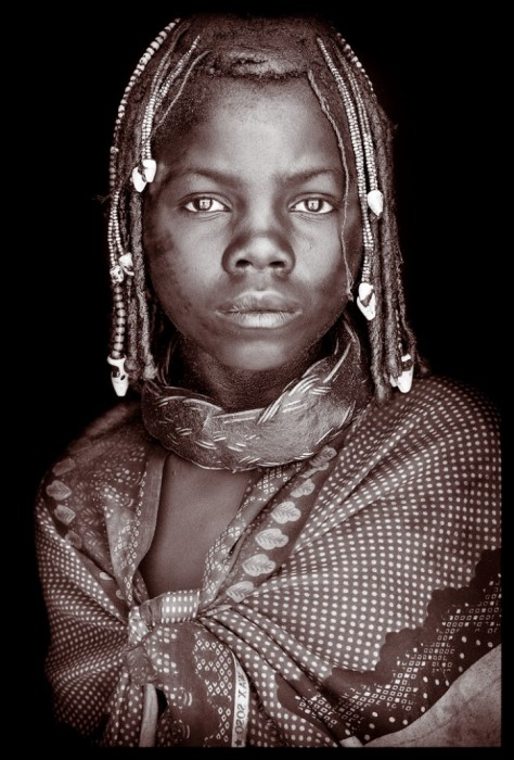 Женщина из племени Химба. Автор: John Kenny.