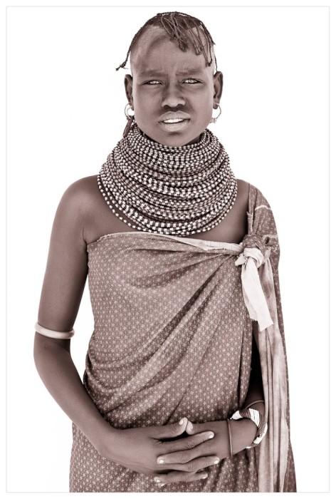 Кенийская красавица. Автор: John Kenny.