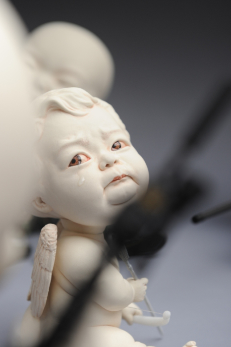 Плачущий ангел. Автор Johnson Tsang.