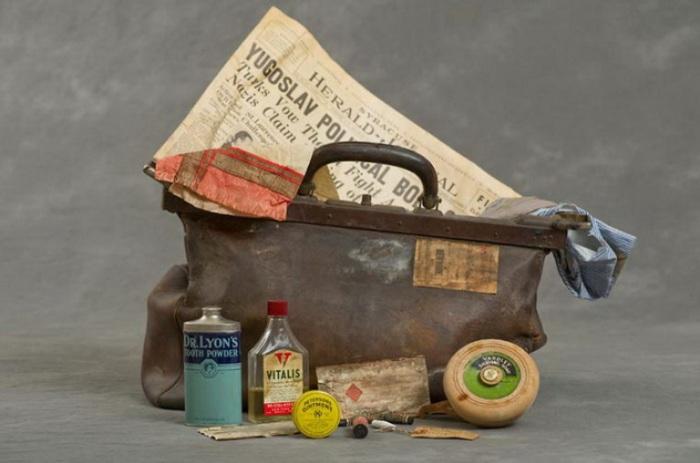Отголоски прошлого. Содержимое чемодана пациента клиники Уиллард.