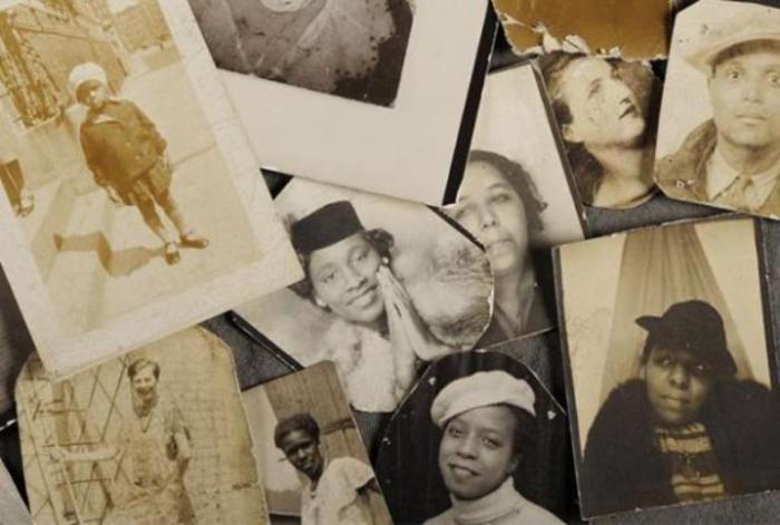 Эти снимки были найдены в чемодане у Фрэнка. На них изображены члены его семьи.