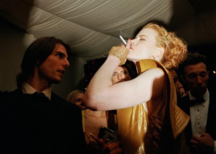 Том Круз и Николь Кидман на вечеринке Vanity Fair Oscar, Западный Голливуд, март 2000 года. Автор: Jonathan Becker.