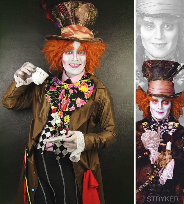 Безумный Шляпник из Алисы в стране чудес. Автор: Jonathan Stryker.