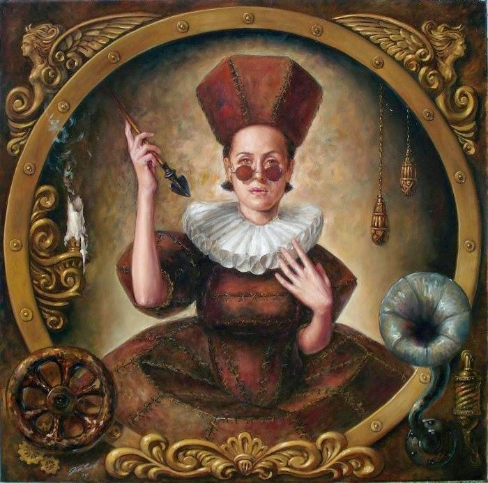 Пиковая дама. Работы современного художника Хосе Парра (Jose Parra).