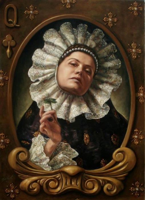 Клевер. Работы современного художника Хосе Парра (Jose Parra).