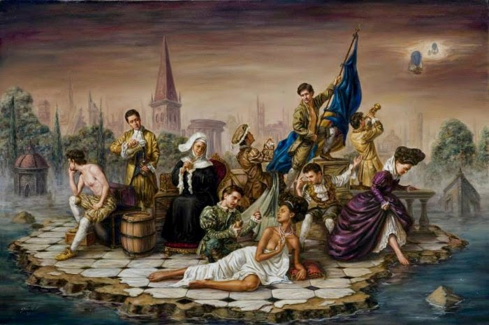 Высшее сословие. Работы современного художника Хосе Парра (Jose Parra).