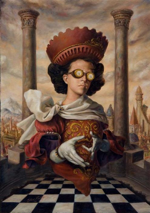 Предсказатель. Работы современного художника Хосе Парра (Jose Parra).
