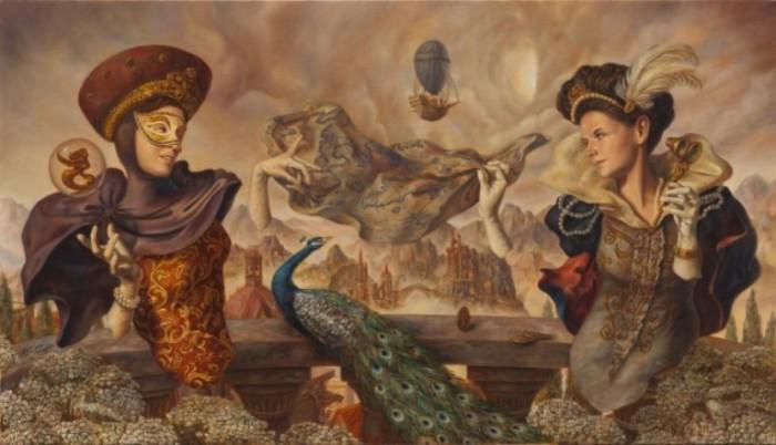 Магия. Работы современного художника Хосе Парра (Jose Parra).