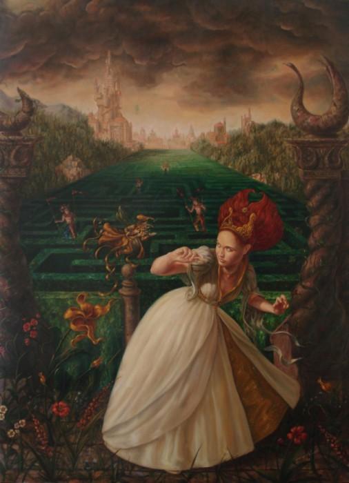 Красочные работы современного художника Хосе Парра (Jose Parra).